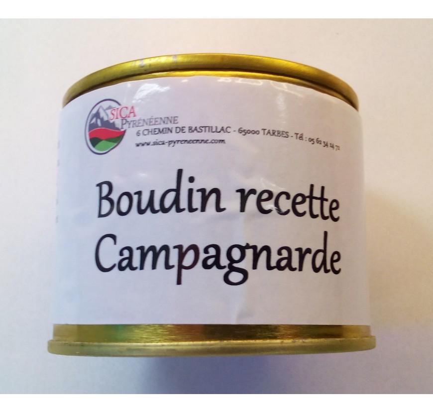 BOUDIN RECETTE CAMPAGNARDE