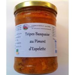 TRIPES BASQUAISE AU PIMENT D'ESPELETTE